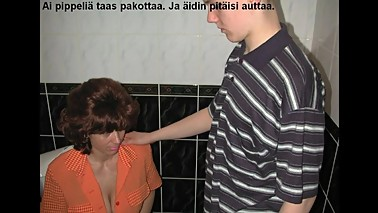 Slideshow with Finnish Captions: Mom Amalia 9