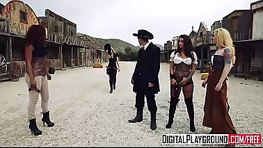 XXX Porn video - Rawhide - beautiful big-booty babe