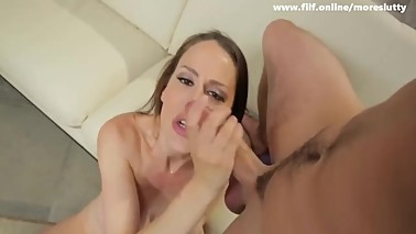 Horny Stepmom Cant Keep Her pussy to Herself