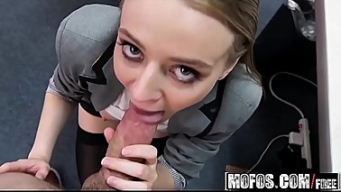 Mofos - Pervs On Patrol - (Ava Hardy) - Sexy Secretarys Secret Cam Work