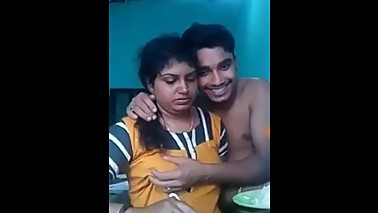 Younger boy with mom sex