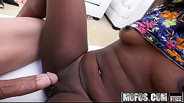 Mofos - Ebony Sex Tapes - (Skyler Nicole) - Piledriver for Hot Twerking Teen
