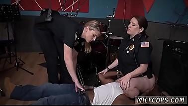 Police group sex and milf young skinny Raw flick takes hold of cop