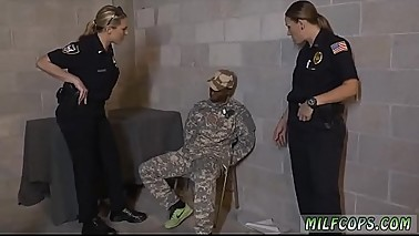 Mature milf fucks young guy Fake Soldier Gets Used as a Fuck Toy