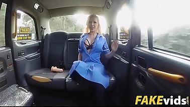 Barbie Sins In Busty naughty nurse dirty taxi ride